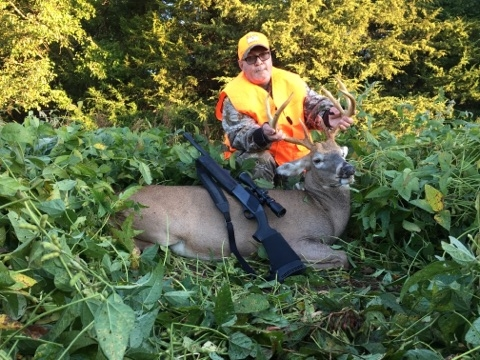 Member Jim Hawk's first buck.
