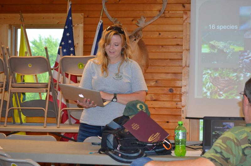 Logan Roberts, Naturlist at Warren County Conservation Board presents.